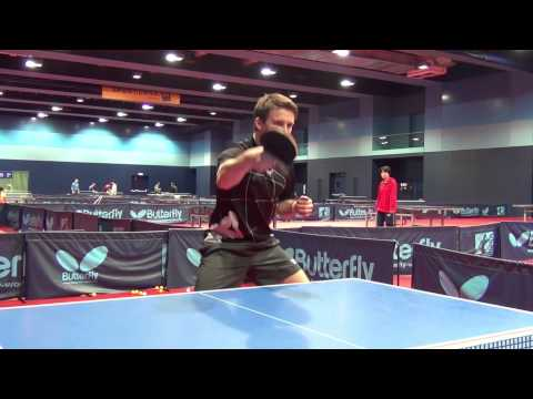 Table Tennis – Attacking with Long Pimples