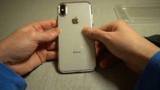 Tozo Ultra Thin Hard Cover Case For IPhone X Unboxing and Review