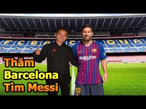 Thử Thách Bóng Đá Đỗ Kim Phúc đi tìm Lionel Messi và thăm quan SVĐ của Barcelona - DKP Việt Nam - Thời lượng: 10:06.