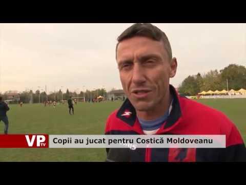 Copii au jucat pentru Costică Moldoveanu