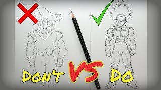 Video Don't VS Do Compilation | DragonBall Edition - HOW TO DRAW MP3, 3GP, MP4, WEBM, AVI, FLV Desember 2018