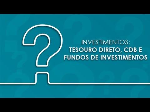 Tira Dúvidas IRPF 2008: Investimentos em Tesouro Direto, CDB e Fundos de investimento