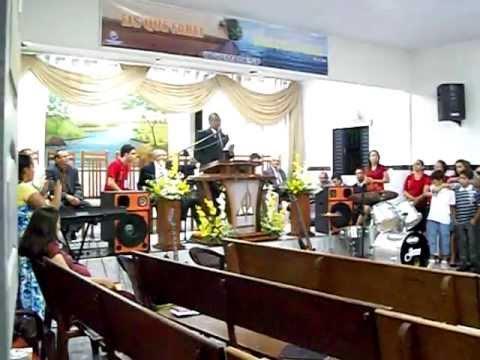 Congresso da  Assembléia   de    Deus  São  João do Rio do Peixe.