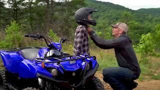 7. All-New 2019 Yamaha Grizzly 90 Kid's ATV