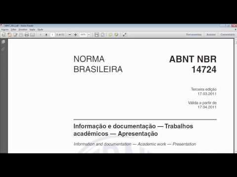 TCC - Nesse vídeo ensinarei, na prática, como seguir as regras exigidas pela ABNT, programando seu word para fazer automaticamente a formatação e como enumerar as ...