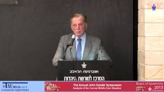 Prof. Itamar Rabinovich - Analysis of the Current Middle East Situation