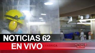 Ola de contagios en fabrica – Noticias 62 - Thumbnail