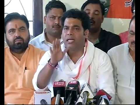 Press Conference by Pt. Shrikant Sharma in Mathura, UP : 03.06.2016