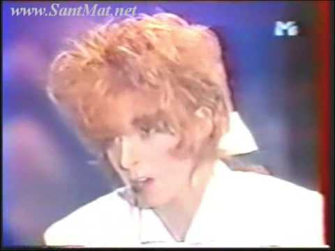 39)---MYLENE FARMER( 1987-1988) ---COLLECTION OF TV, EXCLUSIVE VIDEO, INTERVIEW( SANTMAT)---