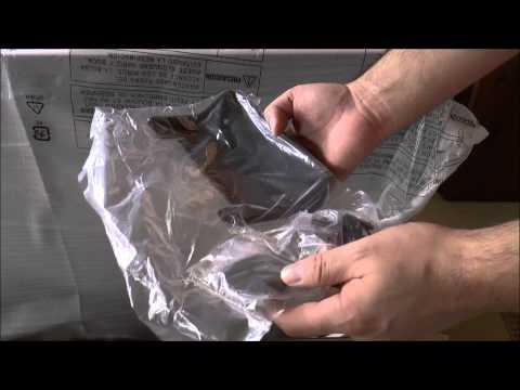 Panasonic Viera TH-P55VT60A Plasma 3D Television Unboxing