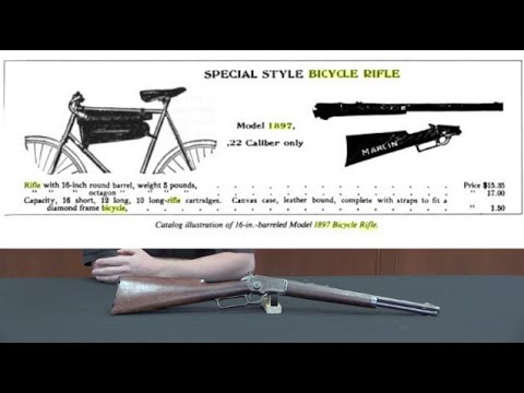 Marlin 1897 Bicycle Rifle