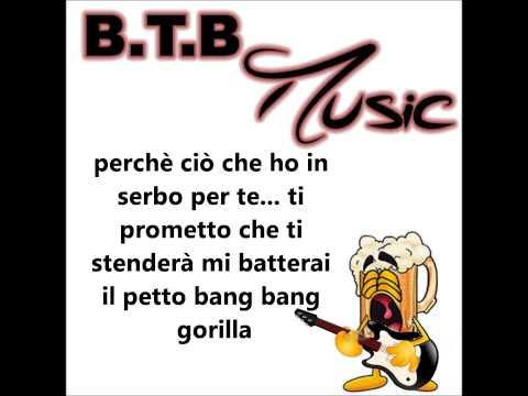 Bruno Mars-Gorilla TRADUZIONE IN ITALIANO by BTB Music