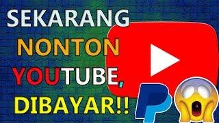 Video NONTON VIDEO YOUTUBE, SEKARANG BISA DAPAT UANG | KAMU HARUS MENCOBANYA MP3, 3GP, MP4, WEBM, AVI, FLV Juni 2018