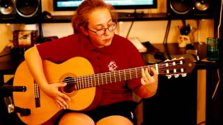 Nirvana - Come As You Are - Acoustic cover by Olivia - Guitar Lessons