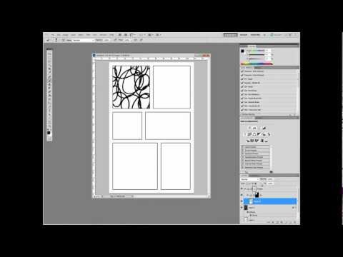 Digital Comics in Adobe Photoshop Part I: Setting Up Panels