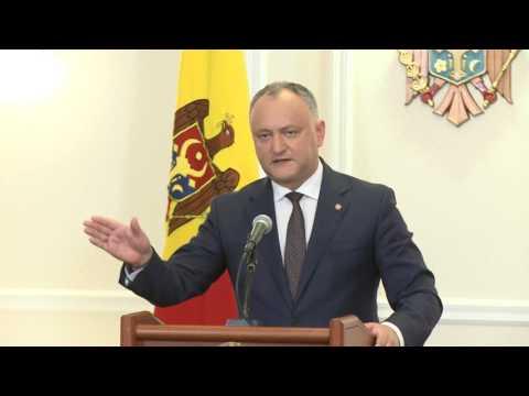 Igor Dodon a condamnat dur acțiunile Guvernului și a majorității parlamentare îndreptate împotriva Federației Ruse și a cetățenilor RM