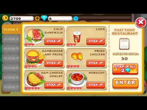 Cooking Tycoon - Fast Cooking (all Perfect)
