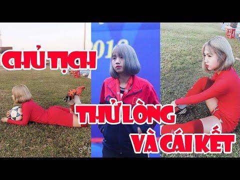 Trần Thị Duyên - Nữ Chủ tịch xinh đẹp giả vờ làm cầu thủ bóng đá thử lòng dân mạng và cái kết - Thời lượng: 10 phút.