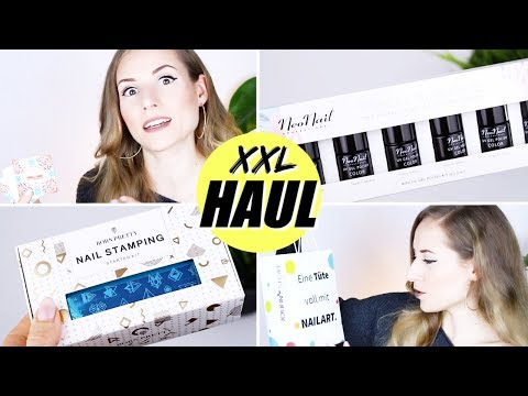 Nageldesign - Riesiger Nail Art HAUL  NEONAIL  JOLIFIN  BORN PRETTY »Lalalunia«