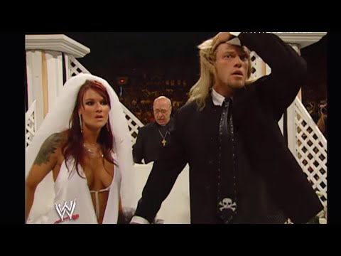 Edge and Lita Raw Wedding has a MONSTROUS ending: Raw June 20, 2005 (видео)