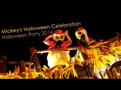 Mickey's Halloween Celebration – Halloween Party 2014 – Disneyland Paris