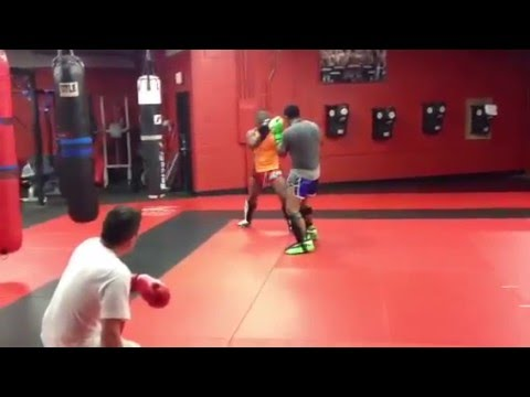 Prepping for fights