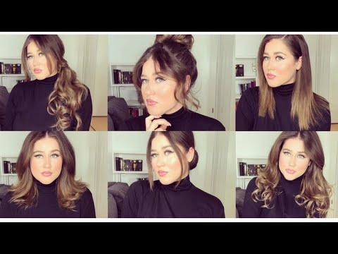 10 Quick Hairstyles for short hair I Schnelle Frisuren für kurzes Haar I Marina Si