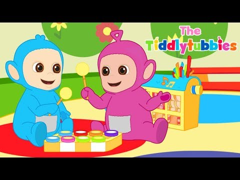 Teletubbies ★ NYTT Tiddlytubbies Cartoon Series ★ Episode 2: Musical Box ★ Tegneserier for barn