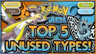 TOP 5 UNUSED TYPES for Pokémon Sun and Pokémon Moon! Pokémon Sun and Moon Discussion and Theories by aDrive
