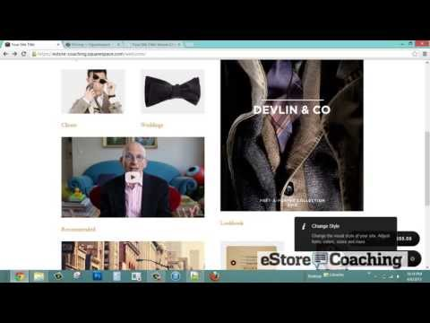 Squarespace eStore Platform Review &#8211; Selling with Squarespace eCommerce Software