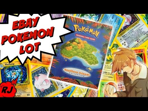 Unboxing Huge Pokemon Package from eBay