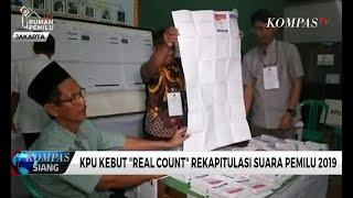 Video KPU Kebut Real Count Rekapitulasi Suara Pemilu 2019 MP3, 3GP, MP4, WEBM, AVI, FLV Mei 2019