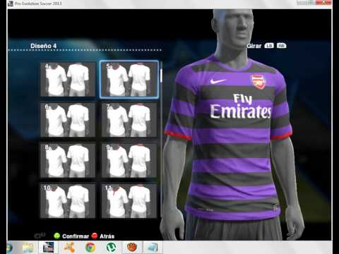 2012 Jj Oo Hd Tutorial Edicao De Uniformes Pes 2012