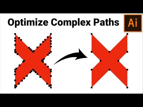 How To Optimize/Simplify Path In Adobe Illustrator Tips For Beginners