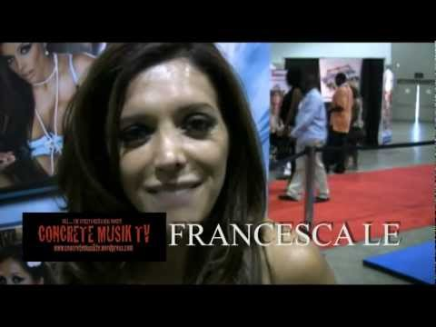 FRANCESCA LE INTERVIEW FROM ADULTCON
