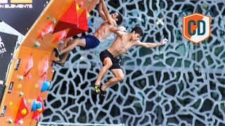 Racing To the Top Of The Psicobloc: Marseille Finals | Climbing Daily Ep.1010 by EpicTV Climbing Daily