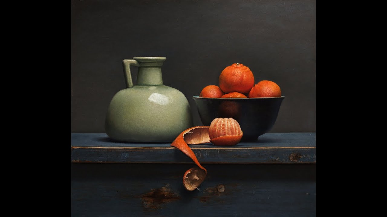 Old master inspired still life painting tutorial