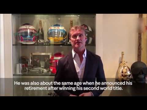 F1 David Coulthard Reacts On Nico Rosberg's Retirement
