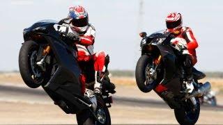 4. 2007 Aprilia RSV1000R vs. Ducati 1098S - MotoUSA