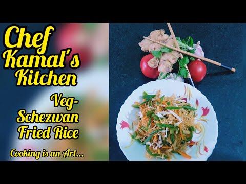 Schezwan Fried Rice Recipe in Tamil | Veg Fried Rice | Homemade Schezwan Fried Rice | Fried Rice