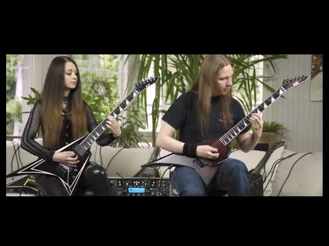 Killswitch Engage - My Curse Guitar Cover feat. Girlfriend