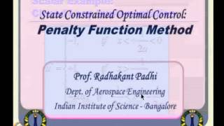 Mod-15 Lec-36 Constrained Optimal Control -- III