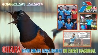 Video BENING PICTURES: OHARA Harumkan JAWA BARAT di Event Nasional MP3, 3GP, MP4, WEBM, AVI, FLV Februari 2019