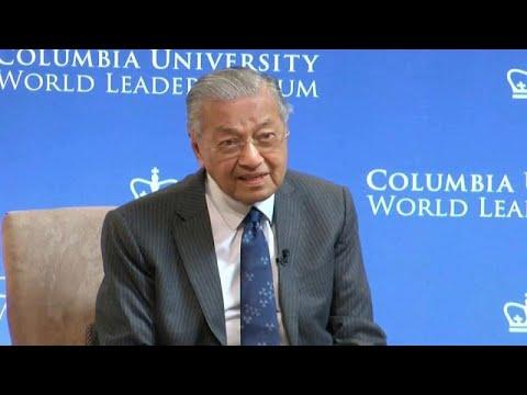 Malaysia: Ministerpräsident Mahathir verteidigt Zweife ...