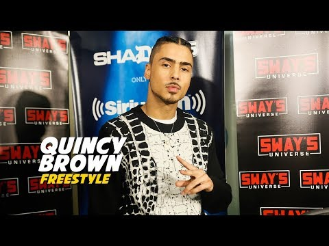 Quincy Brown Freestyle on Sway In The Morning