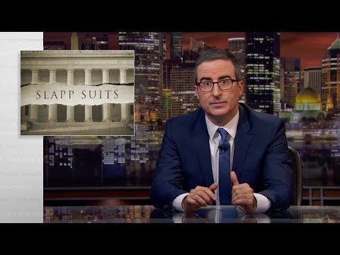 SLAPP Suits: Last Week Tonight with John Oliver (HBO)