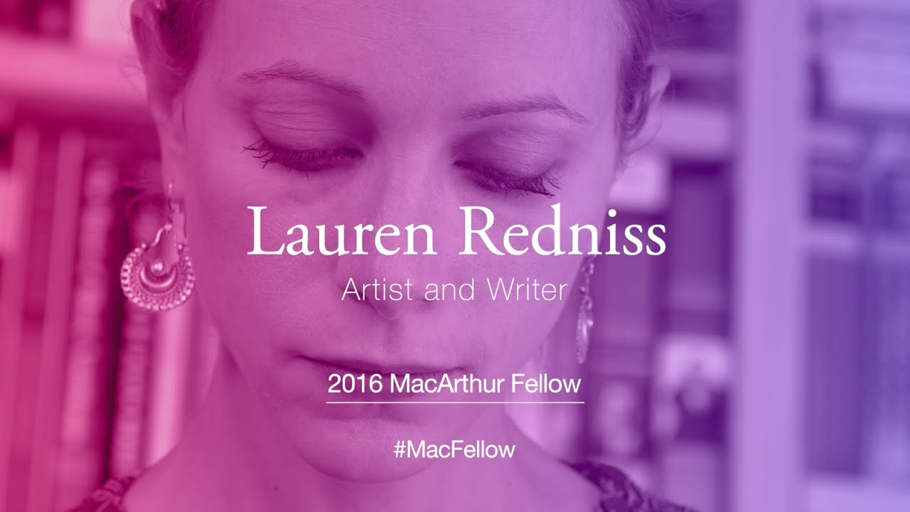 Artist and Writer Lauren Redniss | 2016 MacArthur Fellow