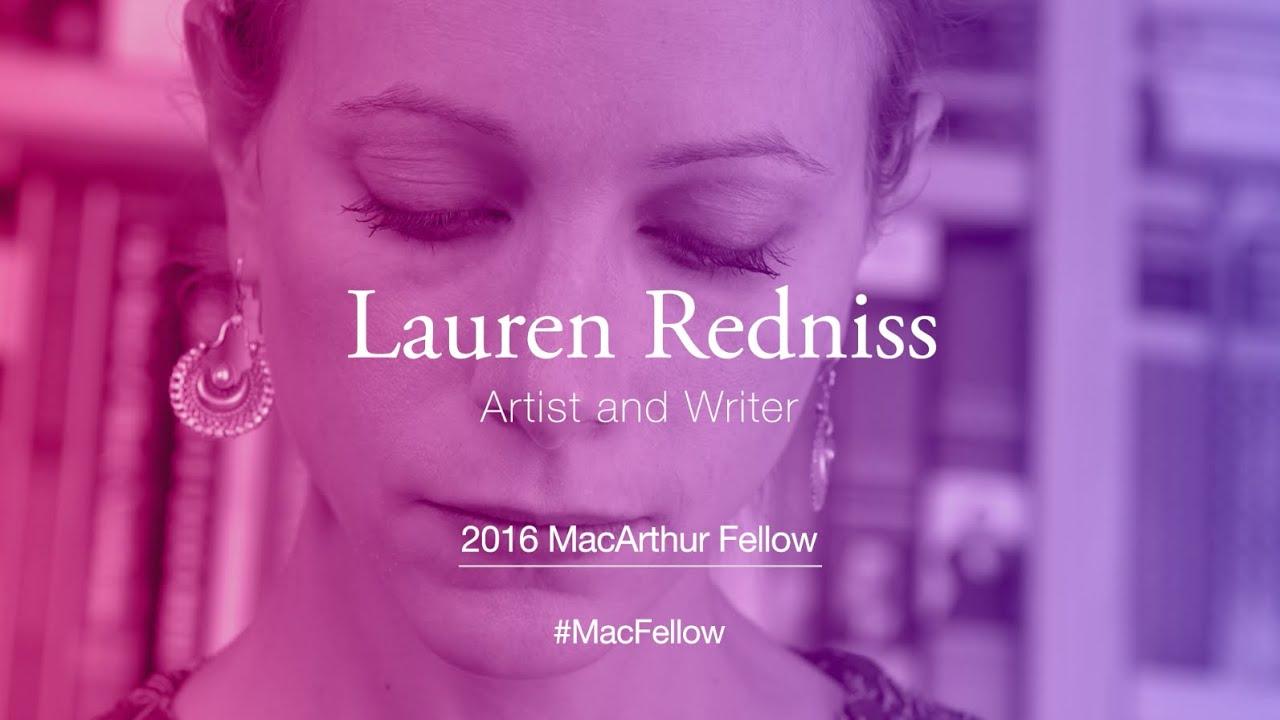 Artist and Writer Lauren Redniss | 2016 MacArthur Fellow