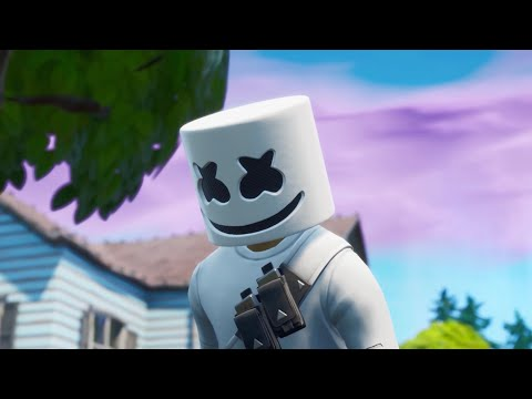 Alone - Marshmello (Fortnite Music Video)