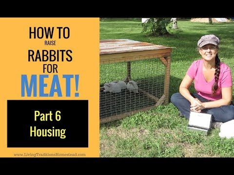 Raising Rabbits for Meat Part 6:  Rabbit Housing